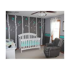 six birch tree decalvinyl wall decal tree with birds decals wall decals wall sticker baby room kid birch tree decals p844 jpg