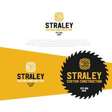 Example Of Company Logo Designs Serious Conservative Construction Company Logo Design For