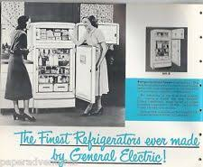 vintage appliances 1950 ge general electric kitchen appliances refrigerator range w d vtg catalog