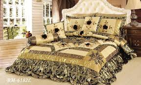 Comforter Sets - DaDa Bedding Collection, Inc. & Comforter - Tache 4-6 Piece Gold Brown And Green Jungle Dreams Patchwork  Comforter Quilt Adamdwight.com