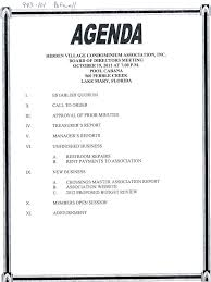 sample agenda example of an agenda title meeting for format template sample word