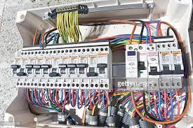 fuse box stock photos and pictures getty images Electrical Fuse And Breaker Box Wall Unit electrical circuit breaker box installation