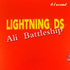 <b>Original 61second Lightning DS</b> NON TACKY pips in table tennis ...