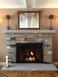 great air stone fireplace