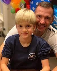 Photo of Andriy Shevchenko  & his  Son  Alexander Shevchenko