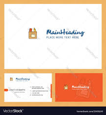 Front Logo Design Pencil Box Logo Design With Tagline Front And
