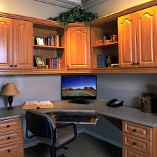 home office cabinetry. Corner Office Home Cabinetry E