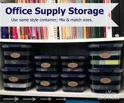 office supply storage ideas. Office Supply Cabinet Gorgeous Storage For Supplies Best Ideas About On Organize Shelf Organizer I