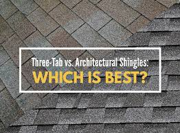 Architectural shingles Brown Architectural Shingles Which Is Best Twin Rivers Roofing Threetab Vs Architectural Shingles Which Is Best