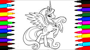 Small Picture How To Draw My Little Pony Princess Cadance Coloring Pages Colours