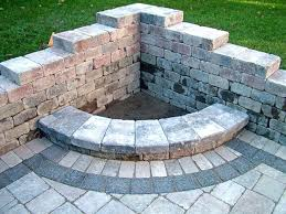 build brick outdoor fireplace your own small making fire places pits