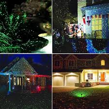 Decorative Stars For Parties Tfcfl Waterproof Outdoor Laser Light Moving Rg Garden Light For