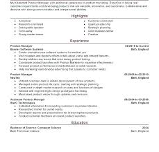 Resume Examples Product Manager Best Of Marketing Manager Resume Examples Construction Manager Resume