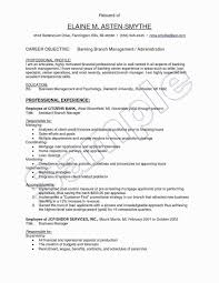 Resume Sample Hotel Restaurant Management Elegant Images