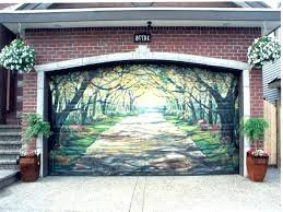 painting garage roller door painting a steel garage door garage door repair paradise painting metal garage