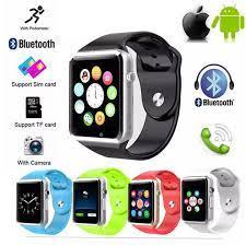 Đồng Hồ thông minh Smart Watch A1 không sử dụng sim kết nối Bluetooth màn  hình cảm ứng tích hợp camera hỗ trợ thẻ nhớ nghe nhạc thỏa thích