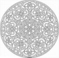 Small Picture Sacred Geometry Mosaic Coloring Page Download Print Online