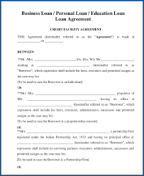 Loan contracts are written agreements between financial lenders and borrowers. Free Printable Personal Loan Agreement Template Templateral