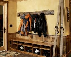 Unfinished Coat Rack Rustic Entry With Rustic Targte Coat Rack Unfinished Wood Bench Cool 18