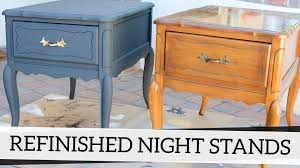 Refinished Nightstands with Annie Sloan Chalk Paint