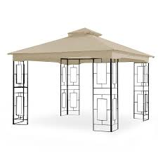 garden winds replacement canopy for gt geo gazebo rip lock 350