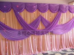 a set of wedding d pipe system wedding curtain valance stand with telescopic rods wedding backdrop with swag backdrop frame diy wedding decorations