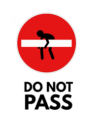 Do Not Pass Sign Flyer Template Postermywall