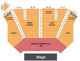 Endstage Ga Pit Seating Chart Interactive Seating Chart