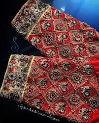Latest Embroidery Designs Latest Saree Blouse Embroidery Designs Nils Stucki
