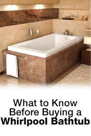 whirlpool bathtub fact sheet