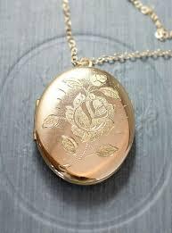 silver locket necklace argos