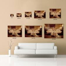 canvas wall art sizes