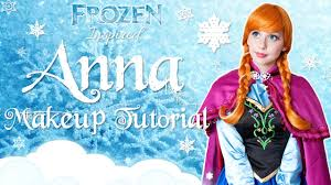 princess anna makeup tutorial disney 39 s frozen cosplay transformation