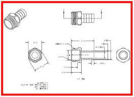 what is standard garden hose fitting