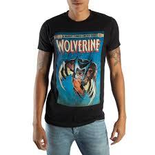 <b>Retro Wolverine Marvel</b> Comic Book Cover <b>Artwork</b> Men's Black ...