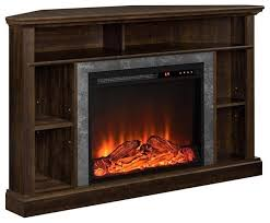 ameriwood home overland 50 electric fireplace corner tv stand transitional entertainment centers