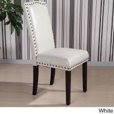 wonderful nailhead trim dining chair large and beautiful photos nailhead trim dining chairs