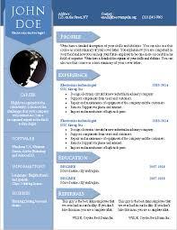 Formatos De Curriculum Vitae En Word Gratis Cv Word Plantillas
