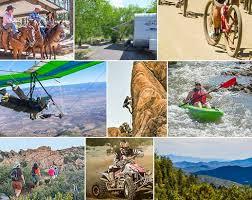 outdoor activities collage. Exellent Outdoor Activities Collage Winter Outdoor Camping In The Woods At  Prescott National Forest And
