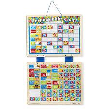 Melissa Doug Magnetic Responsibility Chart