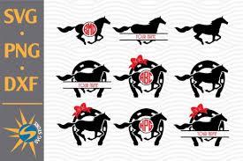 Free horse head | horse silhouette, horses. 7 Horse Shoe Svg Designs Graphics