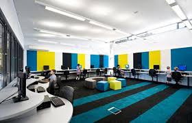 Modern School Interior Decorating Ideas  Classroom Of The Future School Computer Room Design