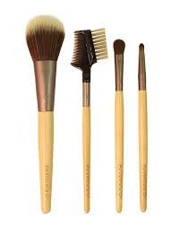 ecotools touch up makeup brush set 4 pieces