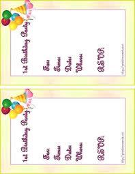Birthday Invitation Cards Printable Sample Birthday Invitation