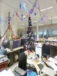 christmas decorating themes office. Delighful Christmas Office Decoration Themes Bay Ideas Top Christmas  Decorating Celebrations And O