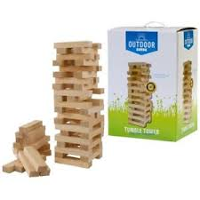 How To Play Tumbling Tower Wooden Block Game OUTDOOR PLAY Tumble Tower Wood Stacking Tumbling Bar Traditional 47