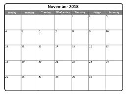 write in calendar 2018 november 2018 printable calendar templates