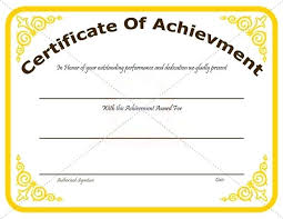 Template Certificate Of Recognition Darmody Me