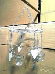 hanging candle chandelier wooden outdoor chandeliers diy