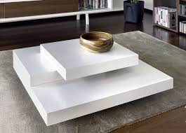 image of square coffee tables white